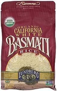 Lundberg Family Farms Organic Basmati Rice, California White, 32 Ounce