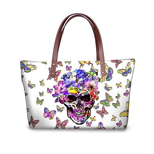 Handbags W8ccc3533al Handle Satchel Bags Foldable Vintage Women Top Wallets FancyPrint Purse gAwna