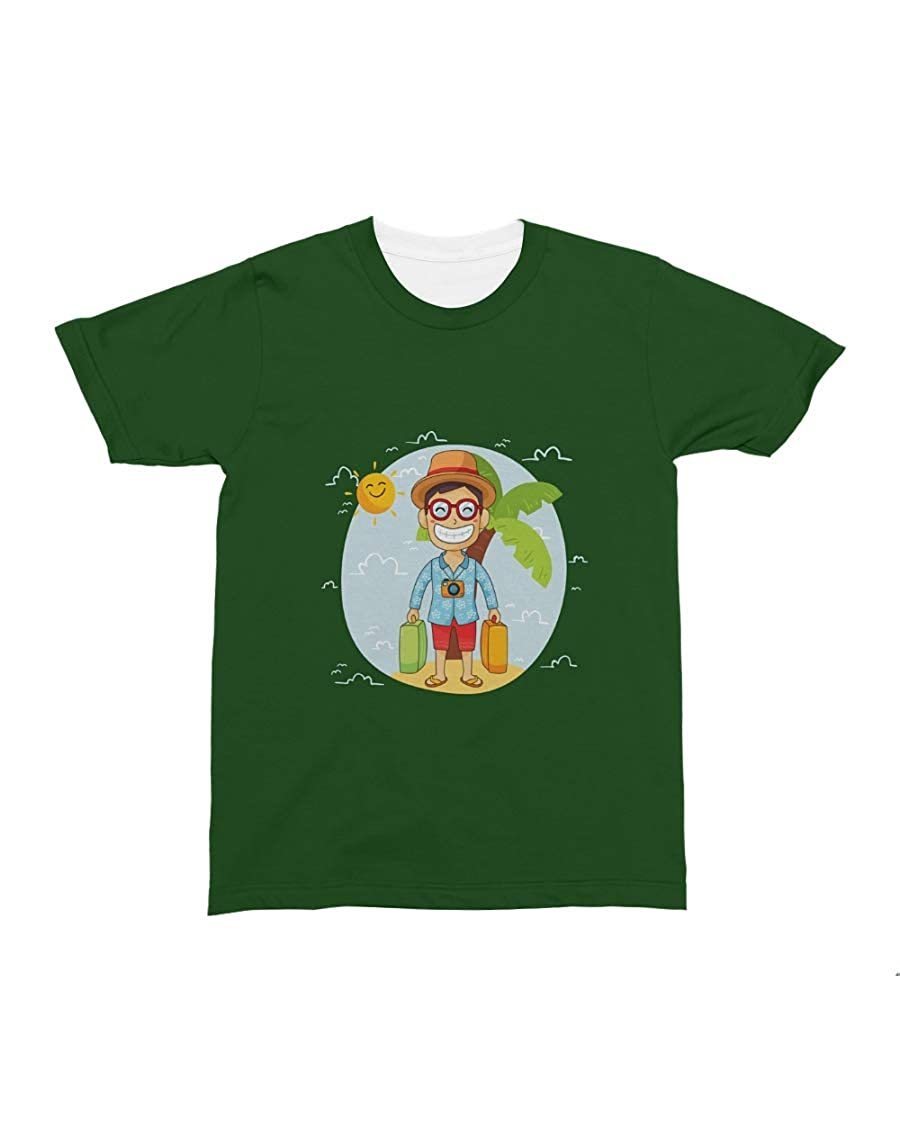 Donna Moritzs SMBAH All-Over T-Shirt Forest Green S