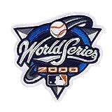 2000 MLB World Series Logo Jersey Patch New York Mets vs. New York Yankees