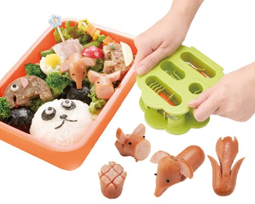 Kai Chuboos Wiener Cutter Mold Animal Shaped FG-5162 by Chuboos (Image #5)