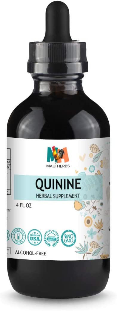 Quinine Tincture 4 fl oz Alcohol-Free Liquid Extract