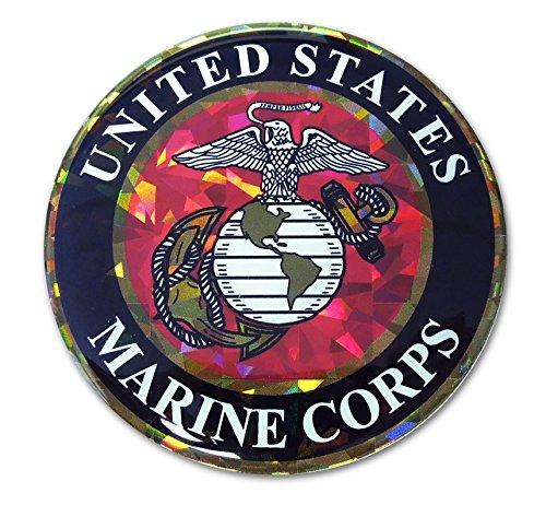 Elektroplate United States Marine Corps Eagle 3D Reflective Decal