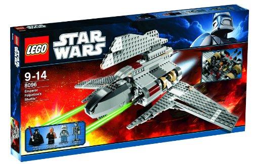 Vehículo LEGO Star Wars: Shuttle del Emperador Palpatine (8096)