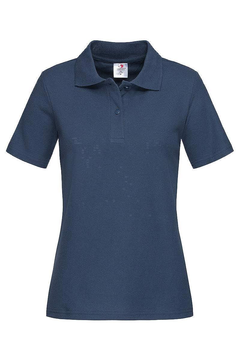 Camiseta polo para mujer de algodón Stedman ST3100: Amazon.es ...