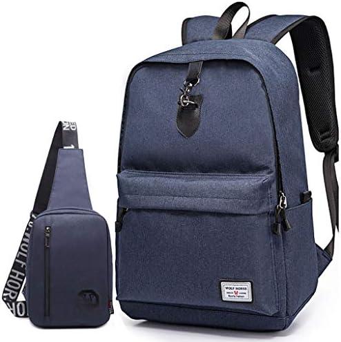 超軽量の男性と女性のショルダーバッグファッショントレンドレジャー旅行大容量バックパック付きチェストバッグ