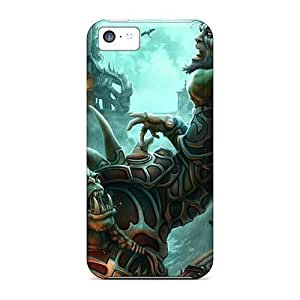 New World Of Warcraft Orc Cases Covers, Anti-scratch Evanhappy42 Phone Cases For Iphone 5c