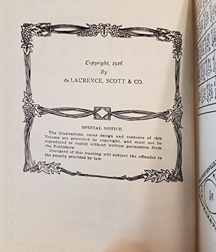 Lesser Key of Solomon Goetia, The Book of Evil Spirits by De Laurence Co.