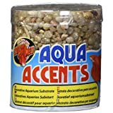 Zoo Med Laboratories AZMBA2 Light River Pebbles, 1/2-Pound