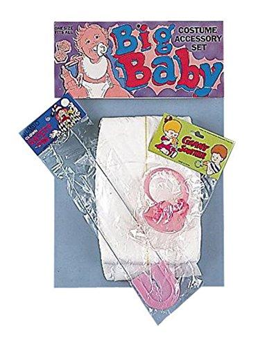 Big Baby Costume Diaper Pacifier