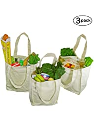 Amazon.com: Heavy Duty - Reusable Grocery Bags / Travel & To-Go ...