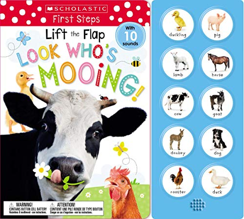 Lift the Flap: Look Who's Mooing! (Scholastic Early Learners)