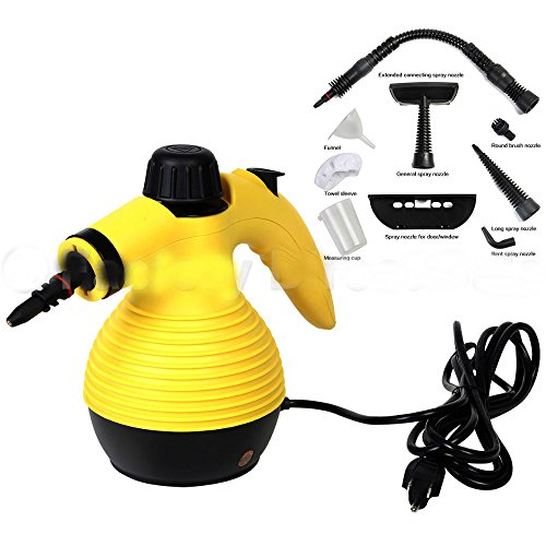 Multifunction Portable Steamer Household Steam Cleaner 1050W W/Attachments New from Unknown