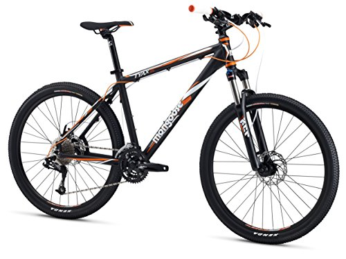 Mongoose TYAX Expert Men's Mountain Bike, Grey, 20″/Large