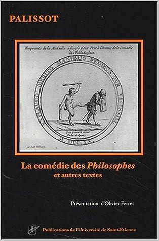 Téléchargement La comédie des Philosophes et autres textes pdf epub
