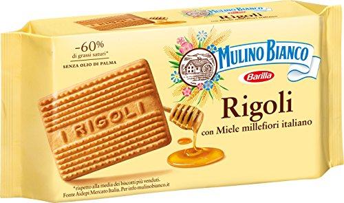 Italian Biscuits - Mulino Bianco Rigoli 14 Oz