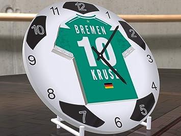 FanPlastic MAX Kruse 10 SV Werder Bremen – edición de Letras de Fooball diseño de Base
