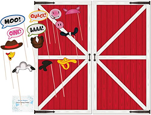 Farm Party Supplies - Farm Animal Photo Booth