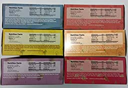 Fig Bar Variety Pack, Bundle of 6 Boxes, Nature\'s Bakery Stone Ground Whole Wheat Figs, 36 Individually Wrapped Bars.