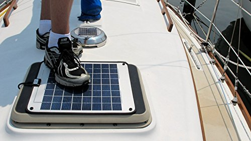 NOW 20 Watt 1.0 Amp - Solar Battery Charger - Boat, RV, Marine & Trolling Motor Solar Panel - 12 Volt - No experience Plug & Play Design. Dimensions 14.1'' L x 15.7'' W x 1/4'' Thick. 10' cable. by DuraVolt (Image #7)