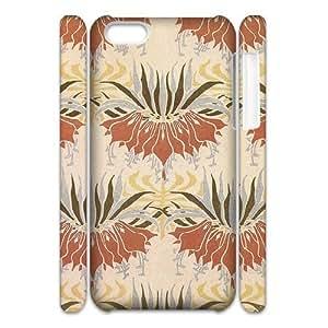 LINMM58281iphone 5/5s Case 3D Flowers Vintage Design Floral Print lm512388MEIMEI