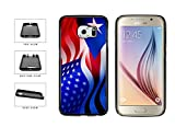 BleuReign(TM) Puerto Rico And USA Mixed Flag TPU RUBBER Phone Case Back Cover Samsung Galaxy Note 8