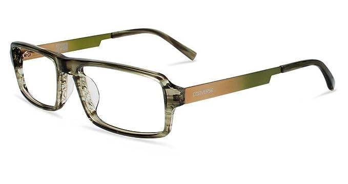 Amazon.com: Converse anteojos q015 UF rayas de oliva 54 MM ...