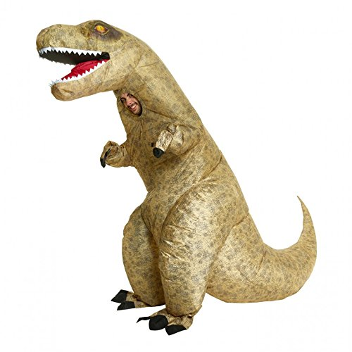 (Morph Men's Giant T-rex Inflatable Costume, Dinosaur,)