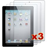 Apple iPad 2-3 Premium Clear LCD Screen Protector Cover Guard Shield Films