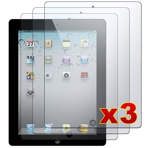 Apple-iPad-2---3-Premium-Clear-LCD-Screen-Protector-Cover-Guard-Shield-Films