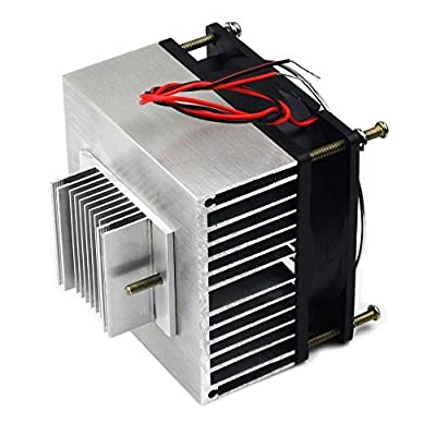 Qianson Thermoelectric Peltier Semiconductor Refrigeration Cooling System Cooler Fan DIY Kits