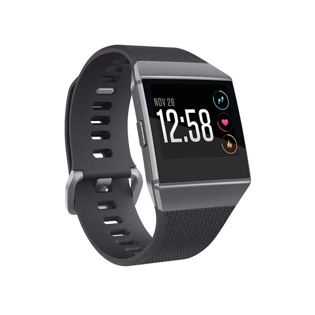 Fashion Clearance! Noopvan Fitbit Ionic Strap,Soft Silicone Replacement Sport Band Strap for Fitbit Ionic Smart Fitness Watch (A)