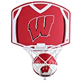 Wisconsin Badgers Mini Basketball And Hoop Set