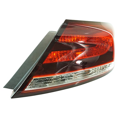 Tail Light Lamp Rear RH Right Passenger for 14-15 Honda Civic 2 Door Coupe
