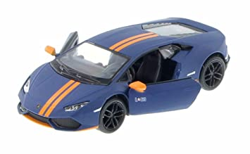 Kinsmart Lamborghini Huracan Lp610 4 Avio Model Car Matt Blue Colour