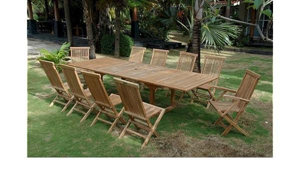 Valencia doble mesa de extensión W 8 Classic plegable sillas ...