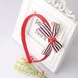 Pyrsun(TM) Korea Style Headbands Kids Sweet Bowknots Hairwear Baby Cute Tie Hair Accessories Girls & Women Lovely Ribbon Bow Hairbands