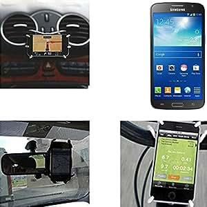 "soporte para coche y para mesa etc. para Alcatel One Touch Idol 2 Mini Dual SIM, negro ""araña"". montaje de la salida aire, espejo retrovisor, bicicletas, etc. Trípode - K-S-Trade (TM)"