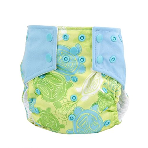 Iuhan Fashion New Baby Adjustable Reusable Washable Cloth Diaper Nappy (F) (Grovia Package Deals compare prices)
