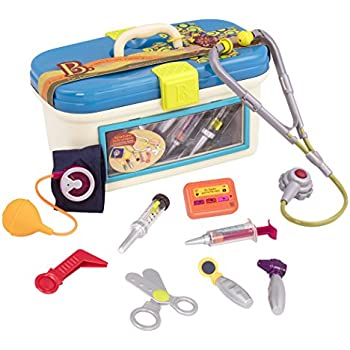 B. Dr. Doctor Toy Medical Kit for Kids Pretend Play (9 pieces)