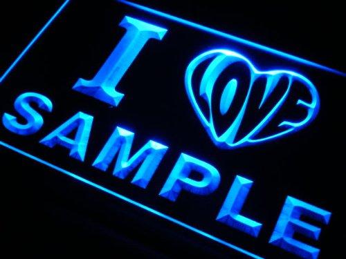 v7145-b I Love BILSTON Souvenir City Limit Neon Sign