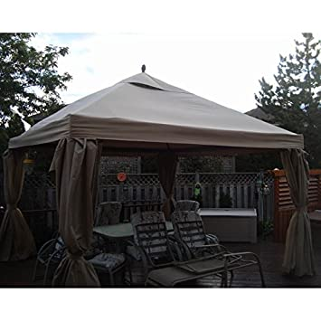 12 x 12 Square Gazebo Replacement Canopy  sc 1 st  Amazon.ca & 12 x 12 Square Gazebo Replacement Canopy: Amazon.ca: Patio Lawn ...