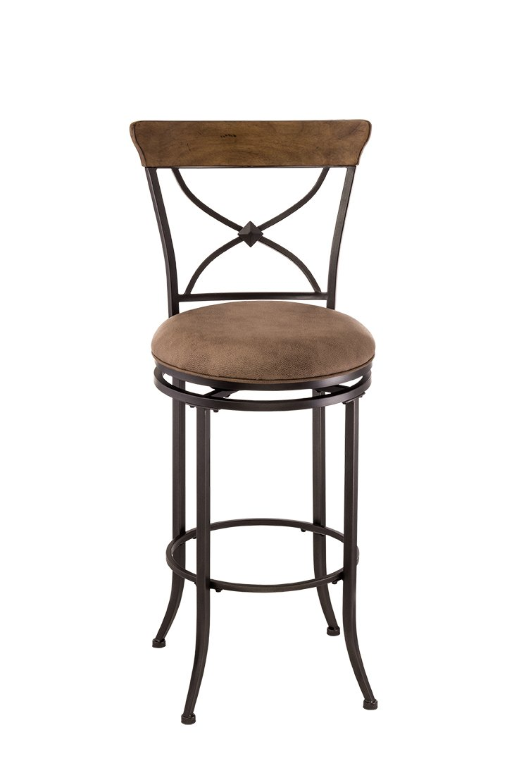 Hillsdale Furniture Charleston Stool, Bar, Desert Tan Finish