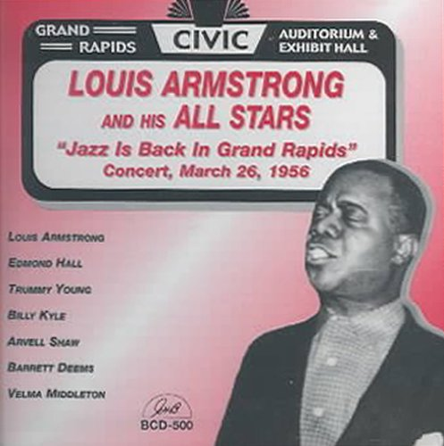 Louis Armstrong - Jazz Is Back in Grand Rapids (CD)