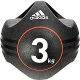 adidas(アディダス) デュアルグリップ メディシンボール 3kg ADBL-10412 スポーツ トレーニング トレーニング用品 [並行輸入品]