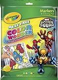 Crayola Color Wonder Superhero Squad Coloring Pad Markers