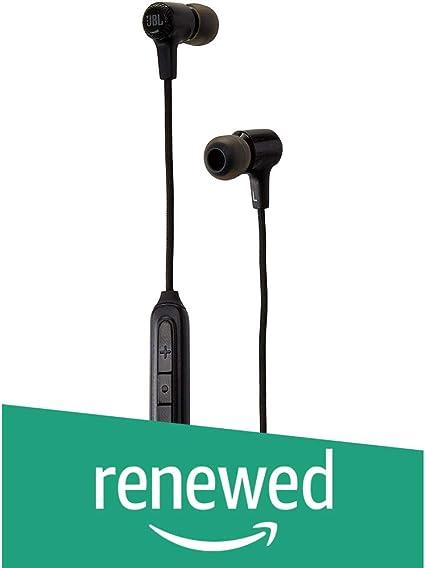 JBL E25BT Bluetooth In Ear Kopfhörer schwarz (Renewed)