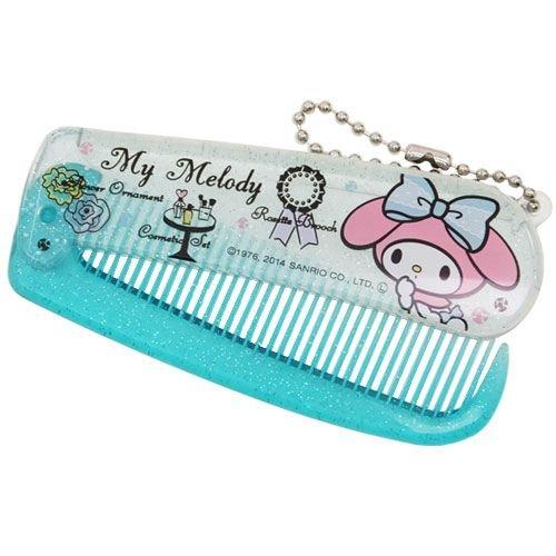 My Melody [ cosmetics goods ] capsule comb Sanrio Kamio Japan comb Character Goods Shop