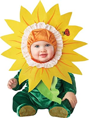 Lil Characters Unisex-baby Infant Sunflower Costume