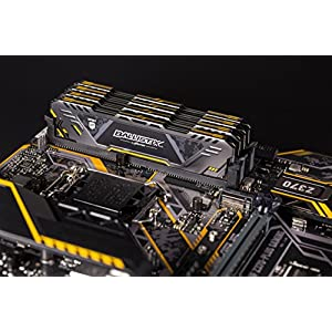 Crucial Ballistix Sport AT 3000 MHz DDR4 DRAM Desktop Gaming Memory Kit 32GB (16GBx2) CL17 BLS2K16G4D30CEST